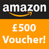 Win a £500 Amazon voucher