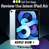 Test an iPad Air
